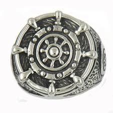 marine jewelry anchor jewelry ring pendant