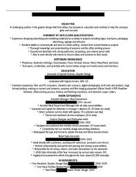 Is An Objective Needed On A Resume Dissecting The Good And Bad Resume In A Creative Field Emily