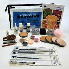 kryolan aquacolor theatrical makeup kit costumes wigs theater