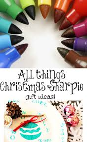christmas sharpie plates gift craft and holidays