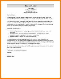 Receptionist Covering Letter 100 Sample Resume Receptionist Front Desk Best Receptionist