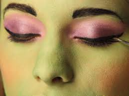 cream halloween makeup kid u0027s halloween makeup tutorial frankenstein u0027s daughter hgtv