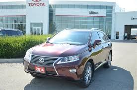 used lexus rx 350 in gta used 2014 lexus rx 350 luxury blind spot cooled seats navigation