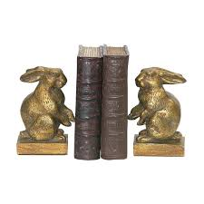 rabbit bookends sterling pair of baby rabbit bookends free shipping on orders