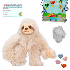 build your own teddy sloth 16 40cm build your own teddy kit no sew add a t shirt