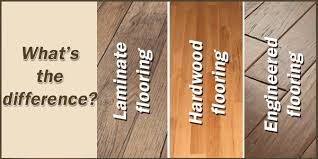collection in difference between hardwood and laminate flooring