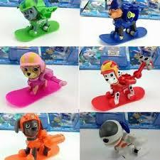 8pcs russian cartoon patrol puppy dog toys action figures doll ebay