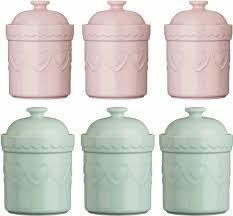 pink canisters kitchen green tea and coffee canisters the coffee table