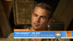 today show set watch insurgent set cast interviews on the today show f u0027yeah