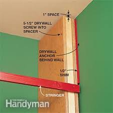 How To Build A Corner Bookcase Step By Step How To Build A Classic Floor To Ceiling Bookcase Family Handyman