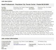 Example Of Profile For Resume by 9 Example Of Profile Description Resume Language