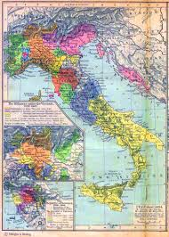 Map If Italy by Map Of Italy About 1494 Insets The Milanese Under The Visconti