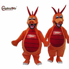Halloween Cartoon Monsters by Online Shop Cosplaydiy Mascot Costume Monster Curry Dragon Cartoon