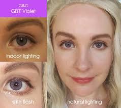 purple eye color lenses melfina cosplay