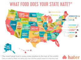 Diner Drive Ins And Dives Map What Food Do People In Your State The Most Fn Dish