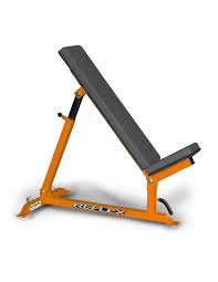 adjustable incline bench reflex fitness products
