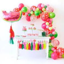 decora tu fiesta con globos y flores muy elegante unicorn