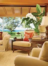 Tropical Bathroom Decor by Hawaiian Decor Aloha Style Tropical Home Decorating Ideas