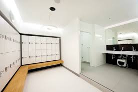 changing room lockers and for personal belongings lockers with