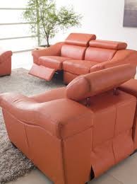 funiture modern reclining sofa ideas for living room using black