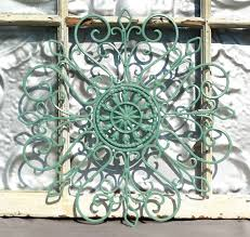 Faux Wrought Iron Wall Decor Wrought Iron Wall Decor Metal Wall Hanging Indoor Outdoor Metal
