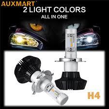 aliexpress com buy auxmart 7hl h4 9003 hb2 car led headlight
