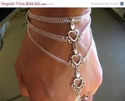 ring bracelet chain silver images Sterling silver slave bracelet best bracelets jpg