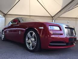 roll royce wraith 2015 goodwood festival of speed 2015 special rolls royce wraith in red