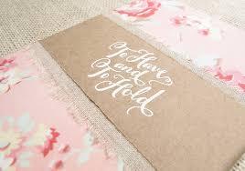 Kraft Paper Wedding Programs Vintage Wedding Invitation Suite Blue Magpie Invitations Blog