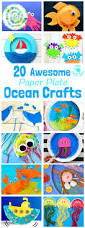 20 awesome paper plate ocean crafts ocean crafts beach crafts