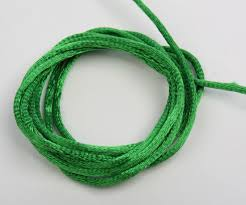 rattail cord emerald satin rattail cord jewelry wire and cords jewelry