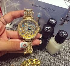womens diamond bracelet watches images Women big diamond bracelet watches luxury crystal women bracelet jpg