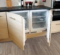 under cabinet fridge and freezer an integrated under counter fridge and freezer set home renovation