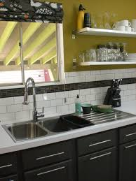 cool image of kitchen decoration using lime green kitchen wall