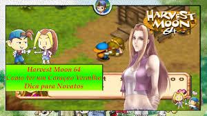 harvest moon 64 coração rosa com karen em 1 dia como ganhar