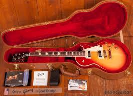 gibson les paul 2017 heritage cherry sunburst guitar for sale max