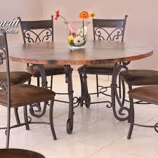 copper top dining room tables marceladick com