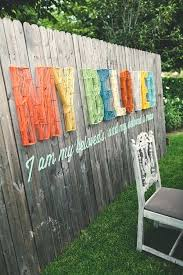 Backyard Fence Decorating Ideas Backyard Fence Decorating Ideas 8 Butterfly Fence Decor Diy Fence