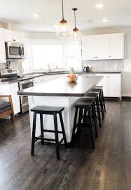 an unbelievable complete diy kitchen renovation chris loves julia