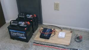 how to hook up solar panels with battery bank simple u0027detailed