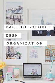 School Desk Organization Ideas Desk Organizers Pinterest Creative Desk Decoration