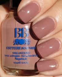 cool and safe tan and pink creme nail polish color for women online