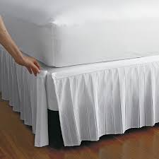 Sheets That Don T Wrinkle Detachable Wrinkle Free Bedskirt The Company Store
