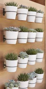 terrific wall mounted planters outdoor uk these white porcelain