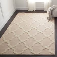 light pink wool rug safavieh handmade cambridge moroccan light pink and ivory wool rug