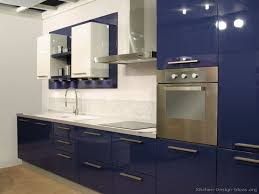 Blue Kitchen Cabinets Splendid Design  Top  Best Cabinets - Kitchen cabinets colors and designs