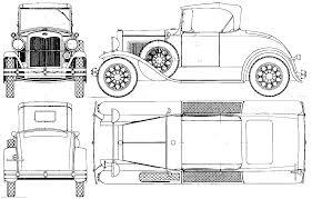 ford model a 1927 cabriolet blueprint download free blueprint