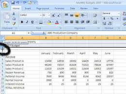 how to change column width and row height in excel 2007 dummies