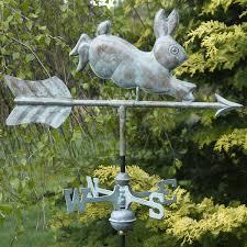vintage rabbit weathervane only 159 90 at garden