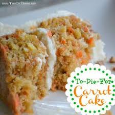 this is the best carrot cake you will ever have there are 3